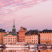 Old Town of Stockholm Wallpaper